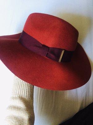 H&M Floppy Hat bordeaux