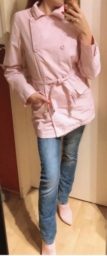 stylischer Trenchcoat in rosa Gr. M