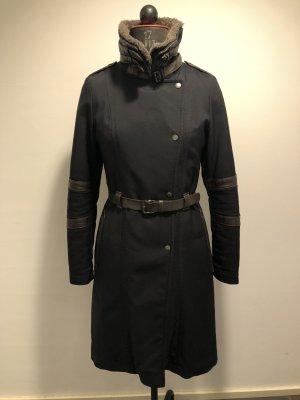 Cinque Winter Coat dark blue-dark brown