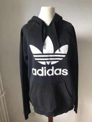 Adidas Felpa con cappuccio nero