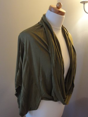 Stylisches Bohemia- Shirt- Cardigan- Khaki