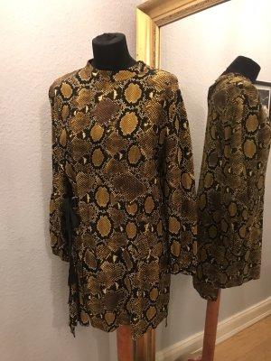 Stylisches Kleid im Schlangenprint