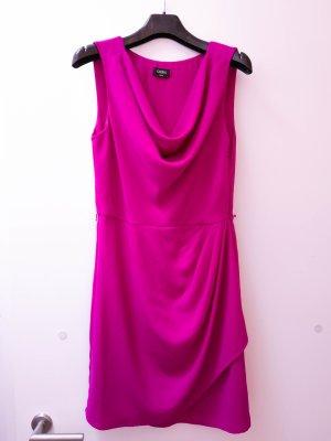 Stylisches Kleid mit Wasserfallausschnitt – Oasis – violett – 36