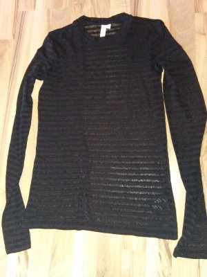 & other stories Long Top black cotton