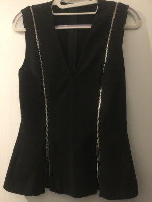 Zara Woman Peplum Top black