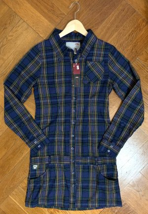 stylisches Skaterkleid Blusenkleid der Kultmarke Titus NEU mit Etikett Gr. S (34/36)