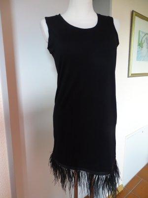 Twin set Midi Dress black cotton