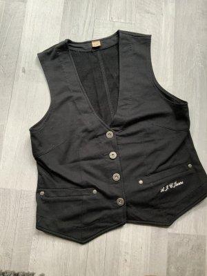 AJC Jeansowa kamizelka czarny