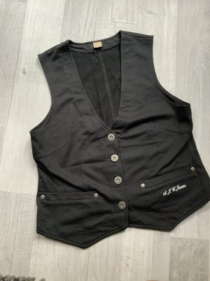 AJC Spijkervest zwart