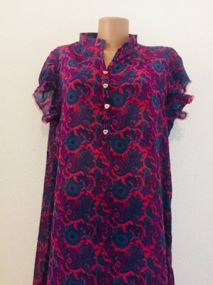 Long Shirt blackberry-red-purple