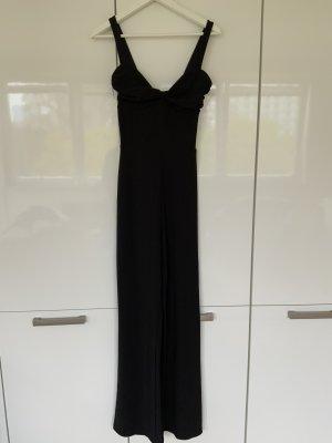 Bershka Spodnie garniturowe czarny