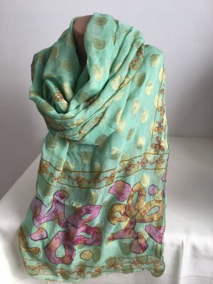 Crinkle Scarf turquoise
