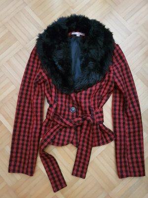 Stylishe Jacke mit abnehmbarem Fellkragen