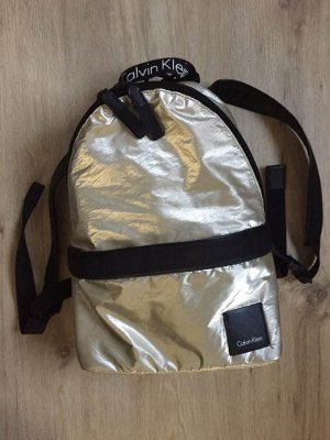 Calvin Klein Trekking Backpack black-gold-colored