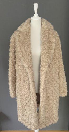 Hallhuber Donna Fake Fur Coat natural white