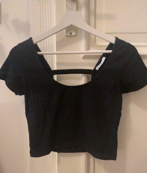 Subdued Camisa recortada negro
