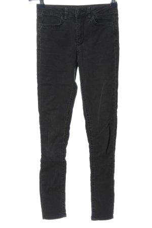 Subdued Jeans a vita alta nero stile casual