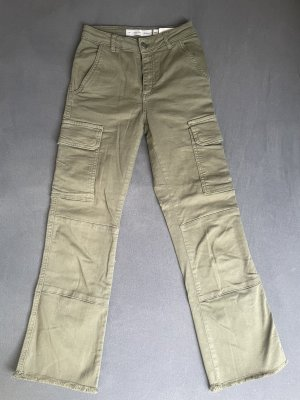 Subdued Jeans a 3/4 verde oliva