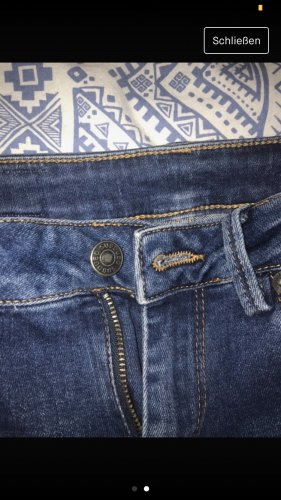Subdued Hoge taille jeans blauw