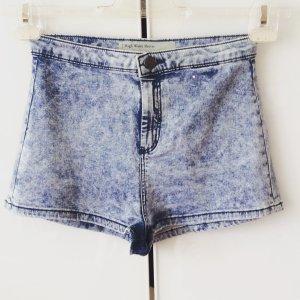 Subdued Jeans a vita alta azzurro