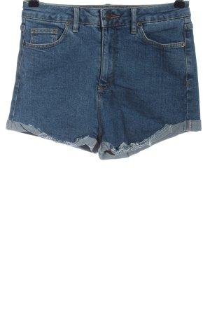 Subdued Pantaloncino di jeans blu stile casual