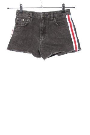 Subdued Pantaloncino di jeans multicolore stile casual