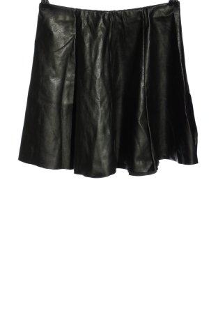 Subdued Kunstlederrock schwarz Casual-Look
