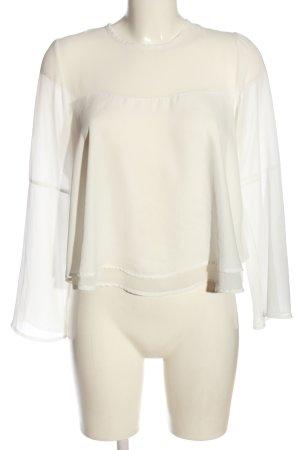 Subdued Camicetta a maniche lunghe bianco sporco stile casual