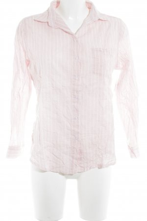 Subdued Langarm-Bluse rosé-weiß Streifenmuster Business-Look