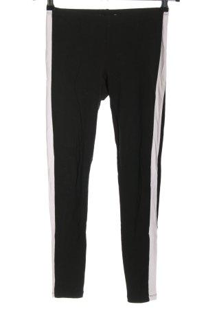 Subdued Legging zwart-wit casual uitstraling