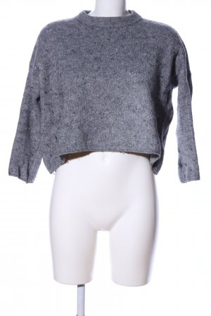 Subdued Oversized Pullover hellgrau meliert Casual-Look