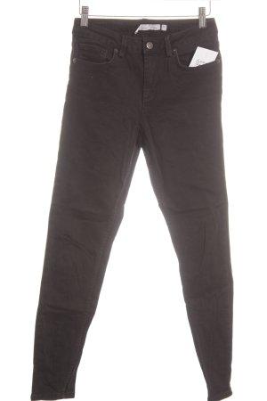Subdued Skinny Jeans schwarz