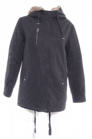 Subdued Giacca invernale nero stile casual