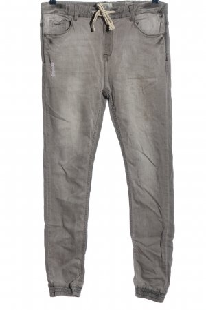 Sublevel Baggy Jeans light grey casual look