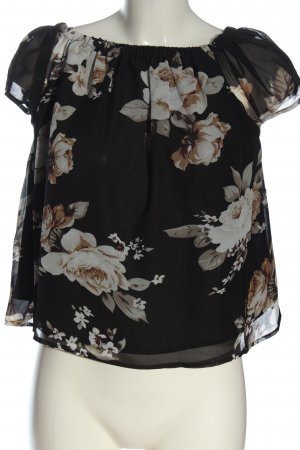 Sublevel Carmen Blouse allover print casual look