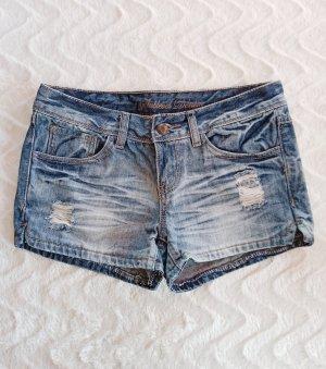Sublevel Short en jean multicolore