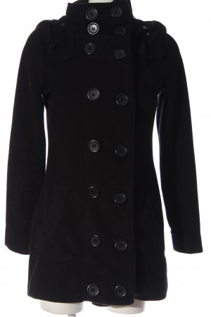 Sublevel Fleecejacke schwarz Casual-Look