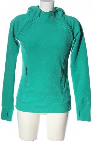 Sublevel Fleece Jumper turquoise casual look