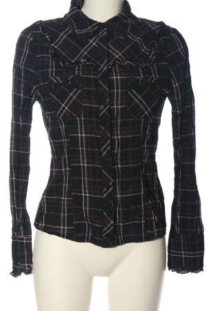 Sublevel Lumberjack Shirt check pattern casual look