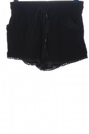 Sublevel Hot Pants schwarz Casual-Look