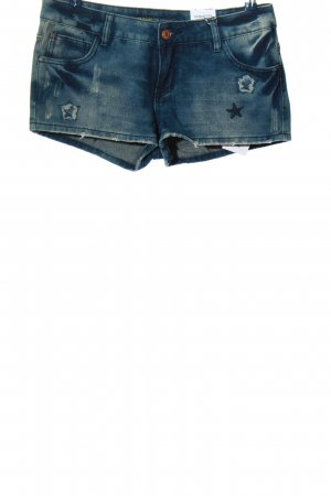 Sublevel Hot Pants blau Casual-Look