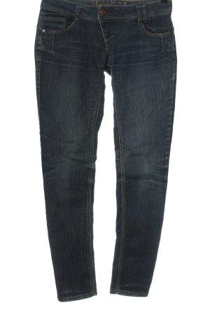 Sublevel Jeans vita bassa blu stile casual