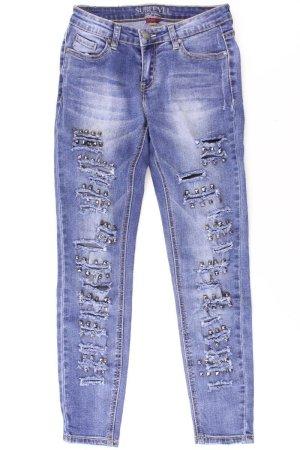 Sublevel Jeans Größe X-Small blau aus Baumwolle