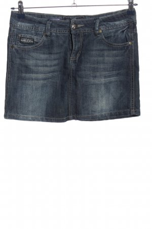 Sublevel Jeansrock hellgrau Casual-Look