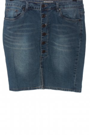Sublevel Gonna di jeans blu stile casual