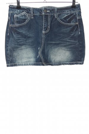 Sublevel Denim Skirt blue casual look