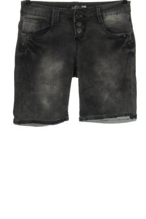 Sublevel Pantaloncino di jeans grigio chiaro stile casual