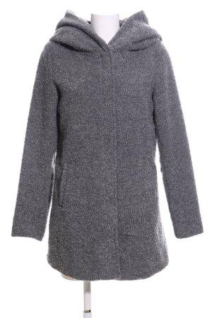Sublevel Manteau à capuche gris clair moucheté style décontracté