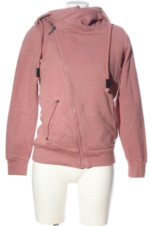 Sublevel Sudadera con capucha rosa look casual