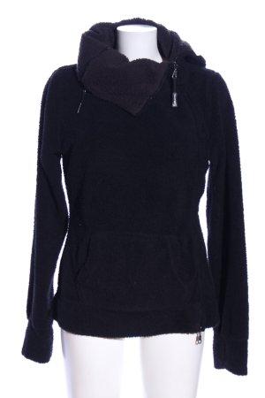Sublevel Giacca in eco pelliccia nero stile casual
